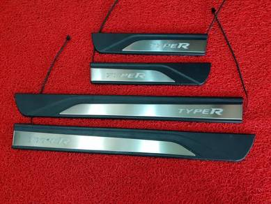 New civic fc type r led side sill plate door step