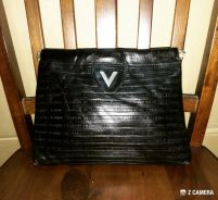 Clutch Bag Leather Mario Valentino