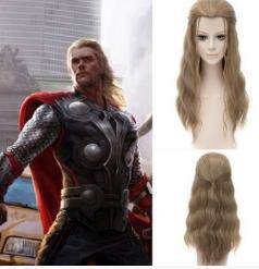 Marvel thor mig hair for cosplay coustume