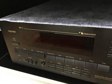 Nakamichi AV-1 Amplifier Audio/ Video Stereo