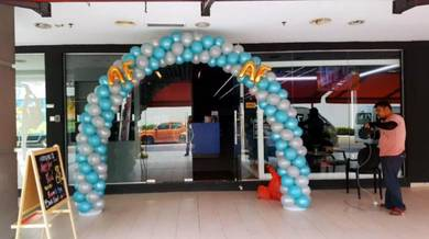 Arch Balloon Entrance 00131