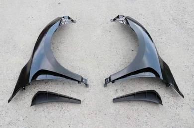 Honda civic x fc type r steel side fender arch 1