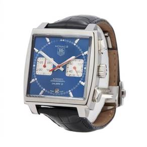 Tag Heuer Monaco Stainless Steel CAW2111-0