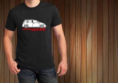 Tshirt Baju HONDA JAZZ H13 TSV Siap Pos Laju