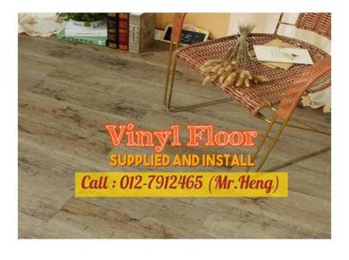 Quality PVC Vinyl Floor - With Install QR49