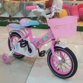 Bicycle pink color for kids to ride Offer =)