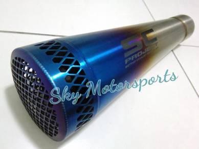 S C GP Exhaust Muffler Ekzos s c 51mm