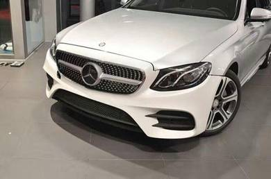 Mercedes Benz E Class W213 AMG Diamond Grill