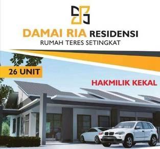 Rumah baru teres setingkat SRI DAMAI