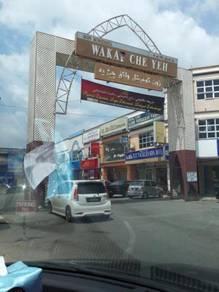 Kedai Pejabat 3 Tingkat di Pasar Awam Bersepadu, Wakaf Che Yeh, KB