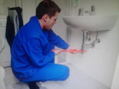 Plumber (repair paip), atap bocor, lektrik