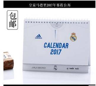 Real madrid calender