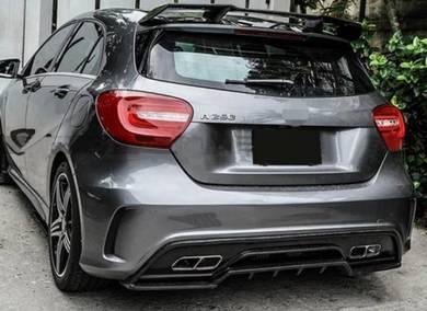 Mercedes Benz W176 A45 Revozport Diffuser Carbon