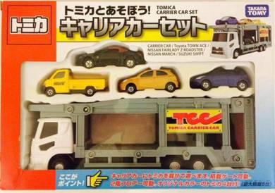 Takara Tomy Tomica Carrier Car Set ( Blue Tomy )