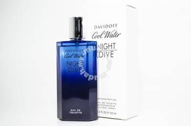 Davidoff Cool Water Night Dive Men Tester Perfume