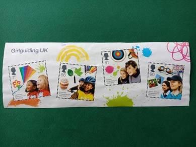 Miniature Sheet Girlguiding B242
