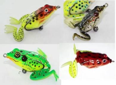 Swimming Long Leg KILLER Frog with box