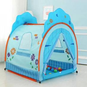 Kids Blue Play House Tent ( CH1010 )