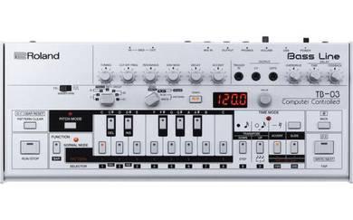 ROLAND TB-03 Bass Line - Synthesizer Sound Module