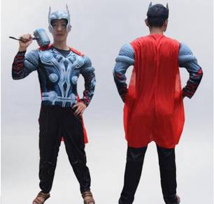 Marvel superhero thor cosplay halloween costume