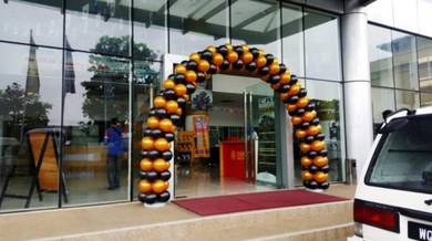 Welcome Balloon Entrance 00331