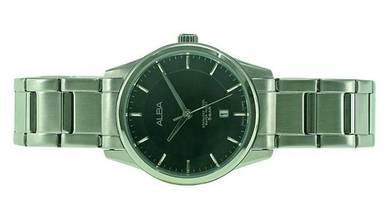 Alba Lady Stainless Steel Date Watch VJ22-X242BSS