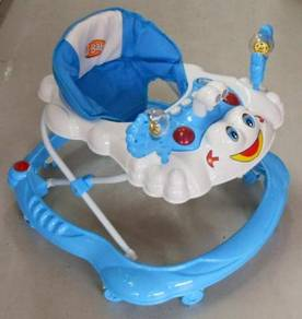 Baby walker - with lights music and stoppers