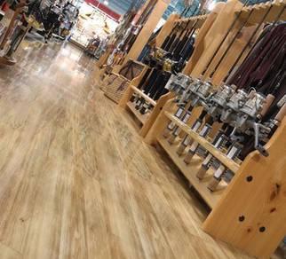 Wood Flooring Vinyl    PVC Staircase Skirting