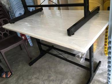 Cafe Fiberglass foodcourt Restaurant Table [ALFAI]
