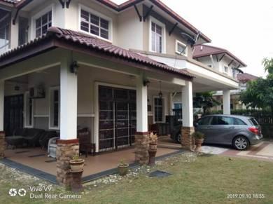 Freehold 2 storey bungalow at kota kemuning shah alam