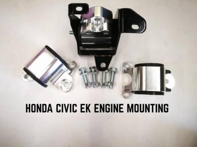 Honda Civic EK Engine Mounting 3 Hole Hasport EG