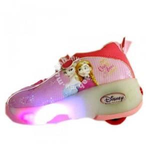 Roller Skating Shoes Light, Blue Disney Frozen