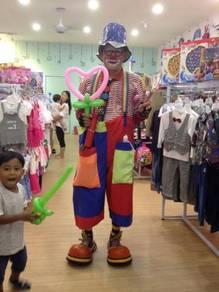 Clown Services at J.B