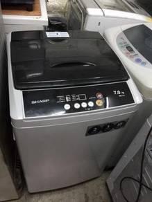 Sharp 7KG automatic washing machine top load