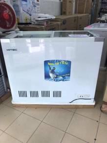 Glass Top Freezer 250L HITEC
