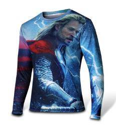 Avengers thor long sleeve cloth