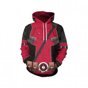 Marvel deadpool long sleeve sweater hoodie
