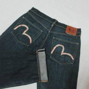 Evisu No 2 W34 L31 kepala kain jeans