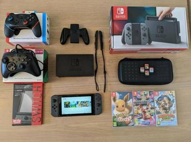 Switch + 4 Games
