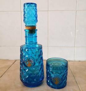 Botol antique martell decanter bottle