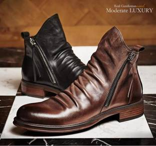 Martin boots shoes men retro
