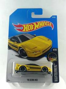 Hotwheels Nightburnerz Acura NSX 90' #4 Yellow