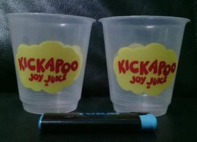 Pcol Kickapoo Cawan Cup Mug Lama 2pcs