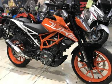 KTM Duke 390 ABS New Facelift ~ With Exhaust