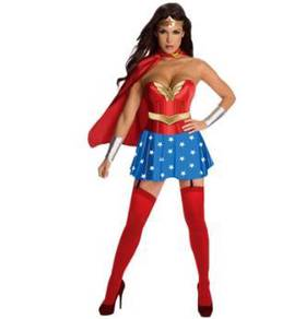 Wonder women cosplay costume for woman