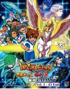DVD ANIME Inazuma Eleven Go 3 Galaxy Vol.1-43End