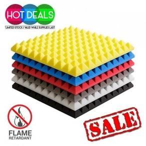 8 pcs pyramid soundproof acoustic foam 12