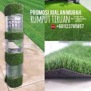 Promosi murah rumput tiruan : artificial grass