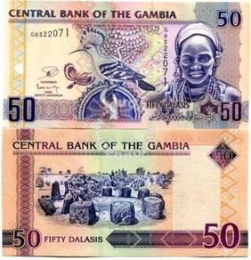 Gambia 50 dalasis 2013 p-28 unc