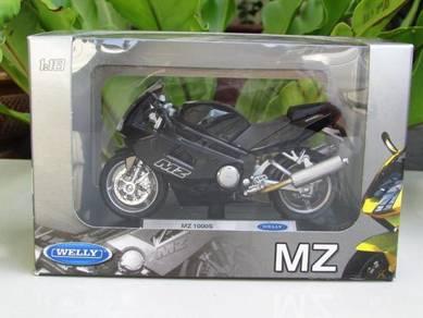 Welly 1/18 Diecast Motorcycle MZ 1000S Sportbike